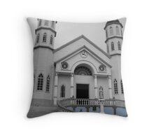 Zarcero's San Rafael Church Throw Pillow