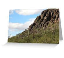 Mother Nature in Marana,AZ Greeting Card