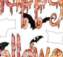 Happy Halloween! Sticker