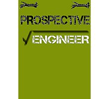 Prospective Engineer Photographic Print