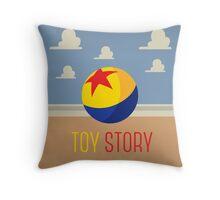 Toy Story Minimalism Throw Pillow
