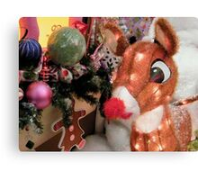 Rudolph The Red Nosed Reindeer Canvas Print