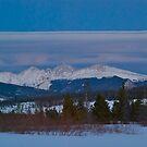 March - Evening view by bberwyn