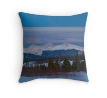 March - Evening view Throw Pillow