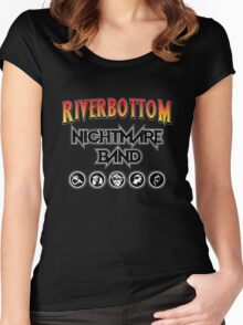 Riverbottom Nightmare Band Women's Fitted Scoop T-Shirt
