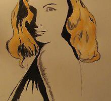 Rita Hayworth by Ashley Huston