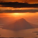 View From Mt Eliza to Lake Pedder  by Michael Walters