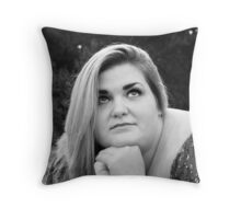 Danni #03 Staring Off Into The Heavens Throw Pillow