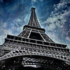Eiffel Tower. France by Lyn Darlington