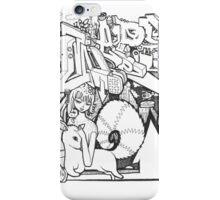 black book sketch iPhone Case/Skin