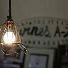 Vintage Wine Lighting by Camilla