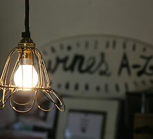 Vintage Wine Lighting by Camilla