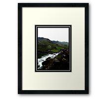 wales landscape Framed Print
