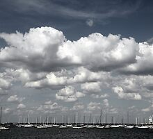 Port Phillip Clouds by Camilla