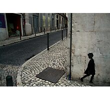Wall Girl Photographic Print