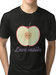 Love inside Tri-blend T-Shirt