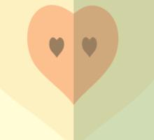 Love inside Sticker