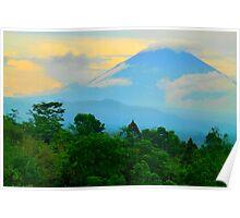 Mount Agung Poster
