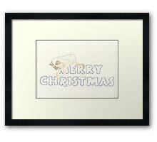 Fleur's Christmas Framed Print