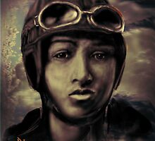 BESSIE COLEMAN ;ON A WING AND A PRAYER ! by Ray Jackson