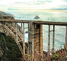 The Bixby Bridge by GreenSaint
