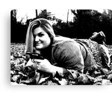 Danni #08 Bonnie Parker Wannabe Canvas Print