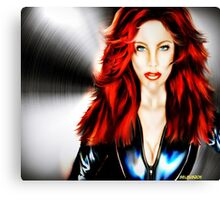 Dark Widow Canvas Print