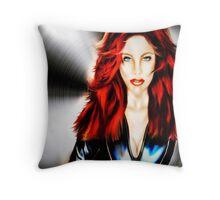 Dark Widow Throw Pillow