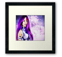 Lady Katana Framed Print
