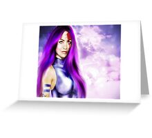 Lady Katana Greeting Card