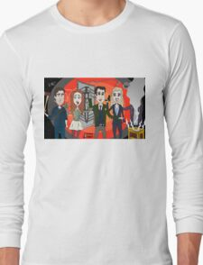 The Librarians as Live Looney Tunes from Raiders of the Lost Ark in the Twilight Zone Long Sleeve T-Shirt