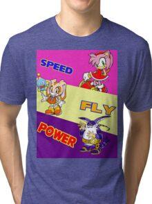 Team: Rose Tri-blend T-Shirt