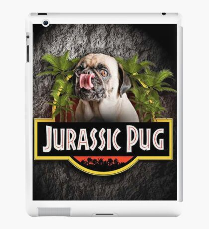 New Jurassic Pug Funny Parody Urban Swag iPad Case/Skin