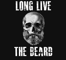 Long Live The Beard Skull Skeleton Unisex T-Shirt
