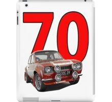 Mk1 Escort Mexico 70's Retro Vintage iPad Case/Skin