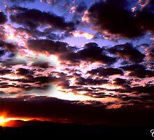 Mead Sunset by Carol Rudd
