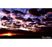 Mead Sunset Photographic Print