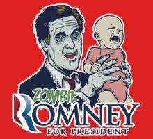 Zombie Romney For President by LibertyManiacs