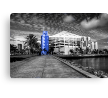 Harbourside Shopping Canvas Print