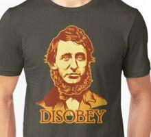 Henry David Thoreau Disobey Unisex T-Shirt