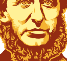 Henry David Thoreau Disobey Sticker