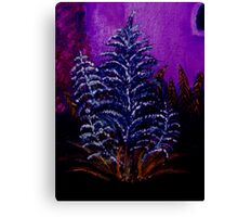 Small plant oil painting Canvas Print