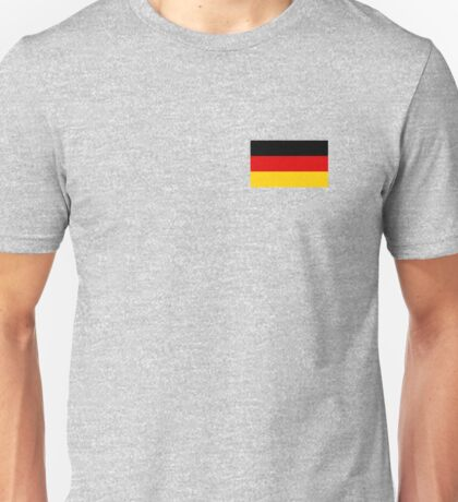 Germany World Cup Flag - Deutschland T-Shirt Unisex T-Shirt