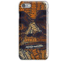 Takes one to know one iPhone Case/Skin