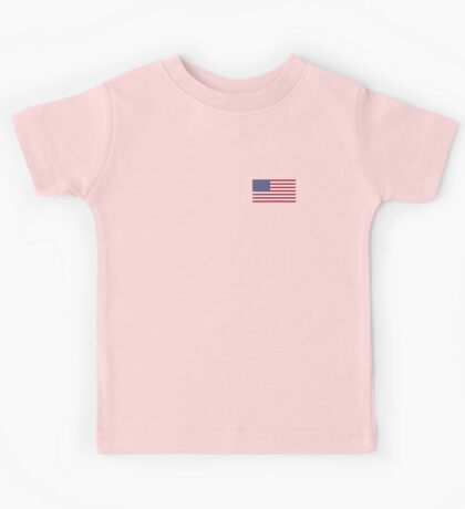US Flag Dress Kids Tee