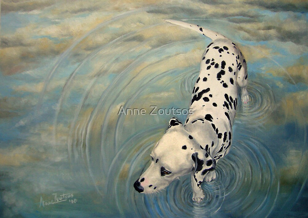 Dalmatian In The Sky by Anne Zoutsos