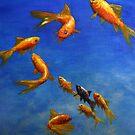 Feng Shui Fish by Anne Zoutsos