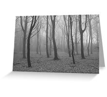 The mist Greeting Card