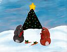 Christmas Bunnies by Kayleigh Walmsley