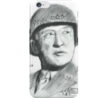 George Patton iPhone Case/Skin